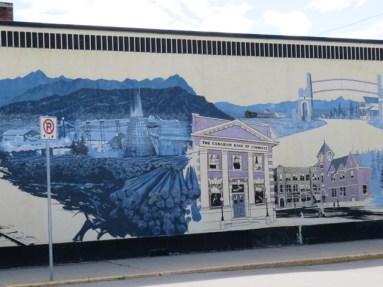 Cranbrook historic mural #2 (Photo © 2016 by V. Nesdoly)