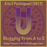 #AtoZChallenge (April 2017) — U!