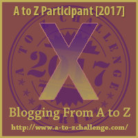#AtoZChallenge (April 2017) — X!