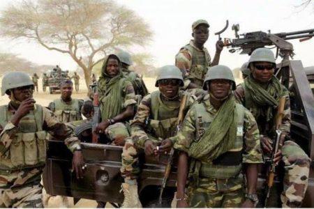 Troops foil terrorists' attack, neutralise scores in Borno town
