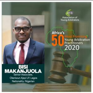 Bisi Makanjuola Hits 40, Makes List of Africa's 50 Most Promising Young Arbitrators