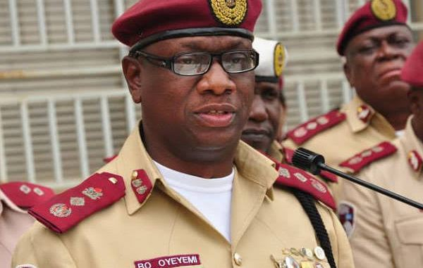 """Ember months: FRSC soon to launch """"Operation Zero Tolerance"""" to curb crashes  - Prompt News"""