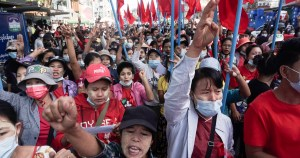 Leader of anti-military protests arrested in Myanmar