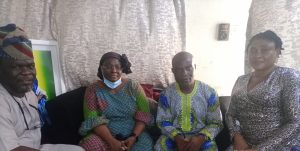 Daba: Lagos NUJ pays condolence visit to family, eulogises late actor