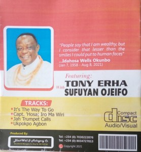Journalists pay tributes to Capt. 'Hosa Okunbo in four-track album + Video