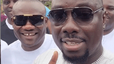 Obi Cubana and friends promise to build church within 6months in memory of late mum