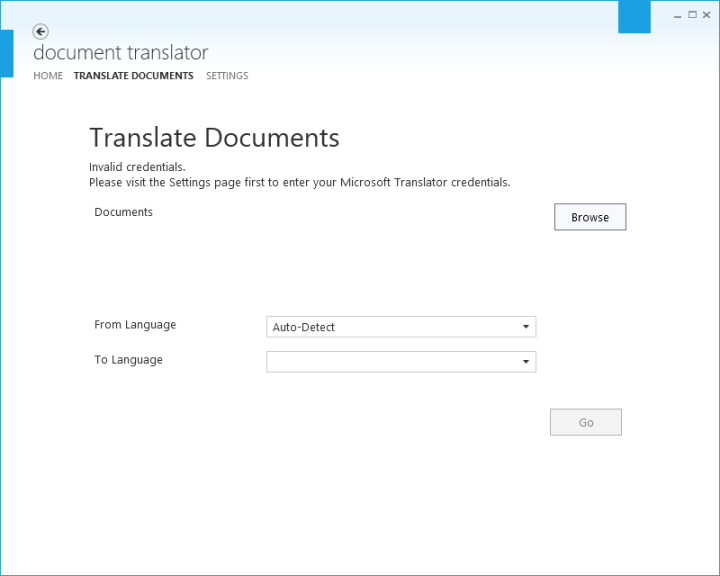 Document Translator