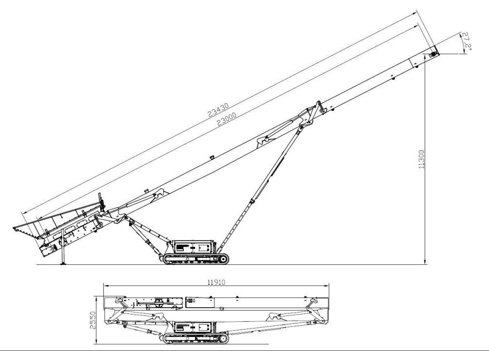 Przenośniki Taśmowe MPT 18g, MPT 24g Heavy Duty
