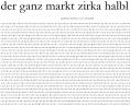 der ganze markt zirka halbl - b k