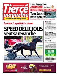 Tierce Magazine Du Jour : tierce, magazine, PRONOSTICS, TIERCE, MAGAZINE,, PRESSE,, COURSES