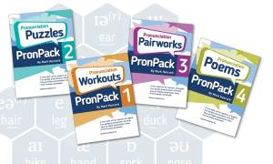 PronPack books 1-4