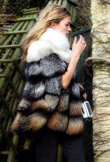 fur coat casaco de pelo street style
