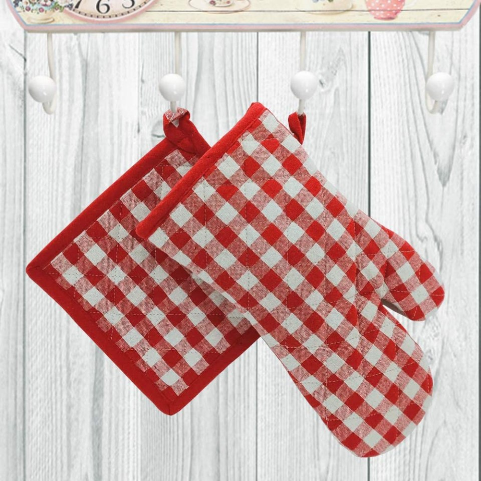 set cucina tessuto
