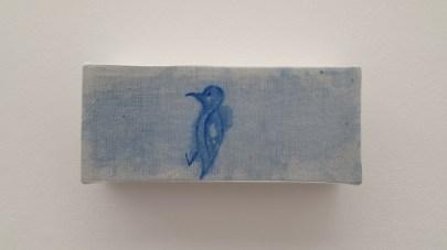 Ghost Painting(Toldo Category) Attraction, Técnica mexta sobre textil,38x55cm,2015