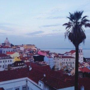 traumhafte Aussicht in Lissabon