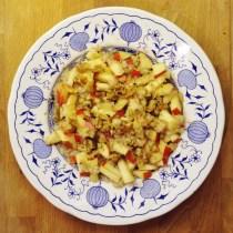 Frühstücksbrei Apfel Zimt vegan