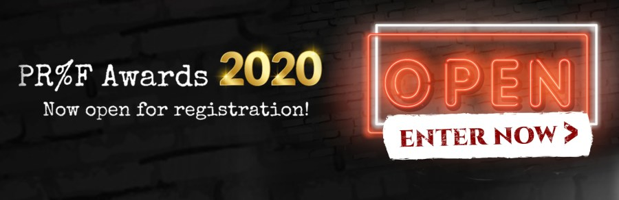 Proof Awards 2020 Now open for registration ENTER NOW