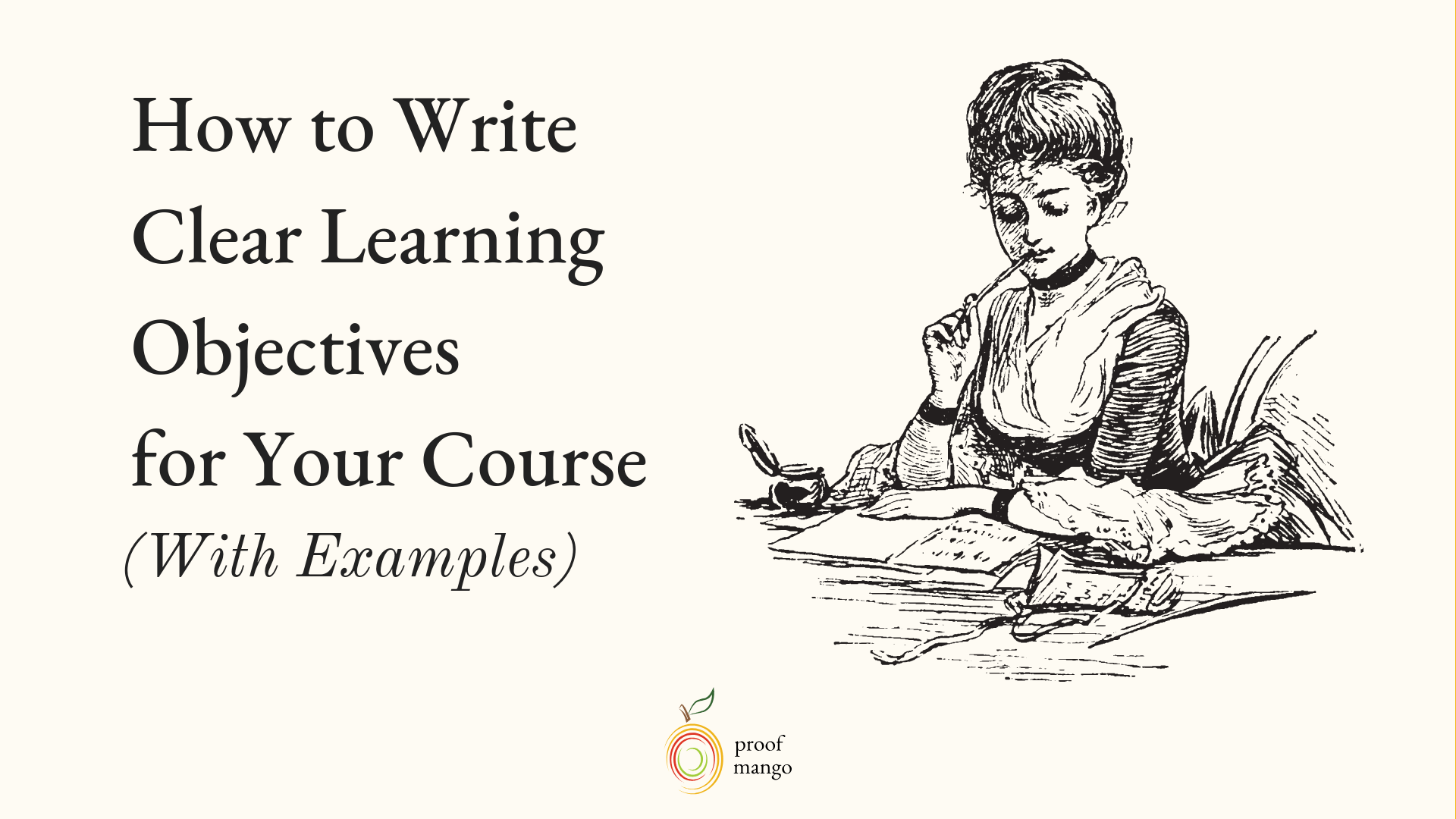 How to Write Clear Learning Objectives for Your Course