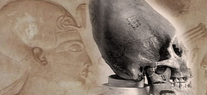Egyptian elongated craniums Hieroglyphics