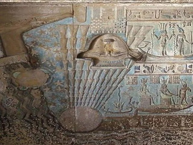 flying saucer ancient Egyptian monuments Hieroglyphics