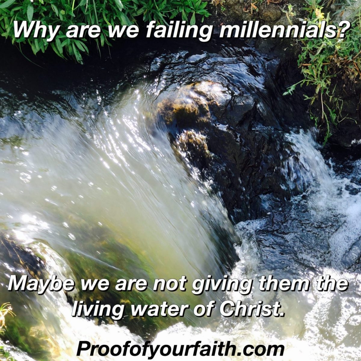 Why are we failing Millennial's?