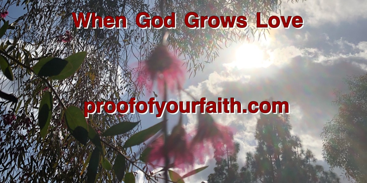 When God Grows Love…
