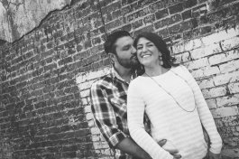 Downtown McKinney Engagement Photography Location