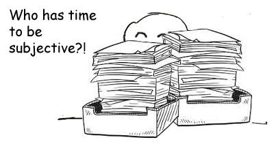 How Do Teachers Grade Papers?