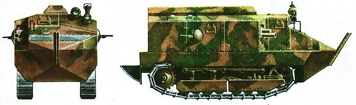 Французский средний танк «шнейдер» СА1