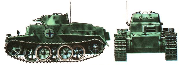 Немецкий танк T-IF (VK1801)