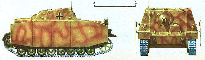 Немецкий штурмовой танк IV