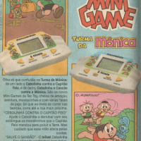 Mini Game Turma da Mônica Tec Toy (1991)