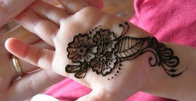 Easy Henna Designs For Boys