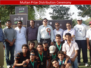 multan team 300x225 All Pakistan Glow Cricket Tournament Concludes
