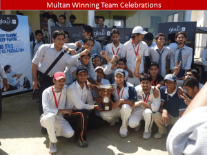 multan winning team 300x224 All Pakistan Glow Cricket Tournament Concludes