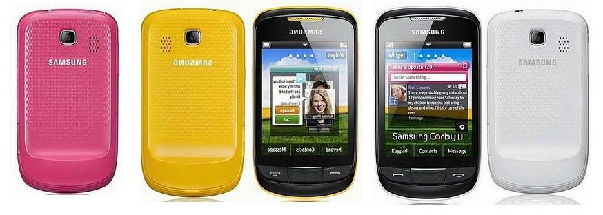 Samsung Corby II GT S3850 Samsung S3850 Corby II in Pakistan