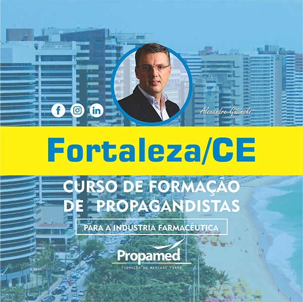 Curso de Formação de Propagandista - Fortaleza/CE