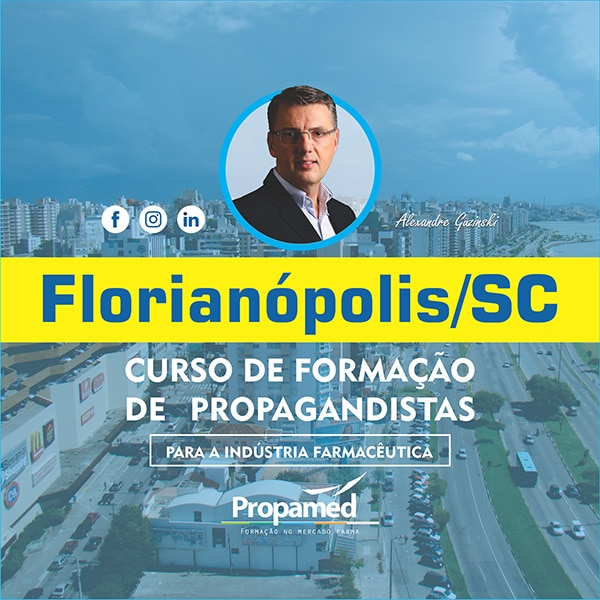 Curso de Formação de Propagandista - Florianópolis/SC