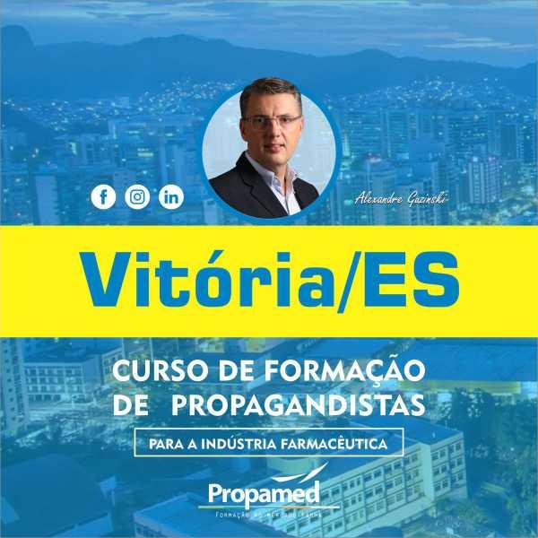 Curso de Formação de Propagandista - Vitória/ES