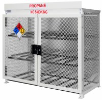 Propane Cylinder Storage Cabinets - Image Cabinets and ...