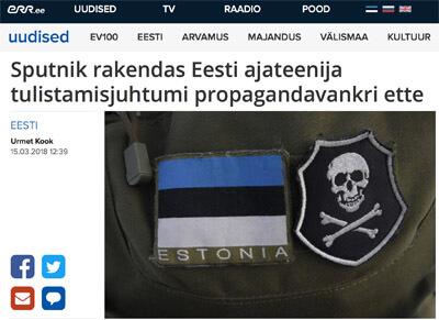 Sputnik hat estnische Medien beim Presserat verklagt
