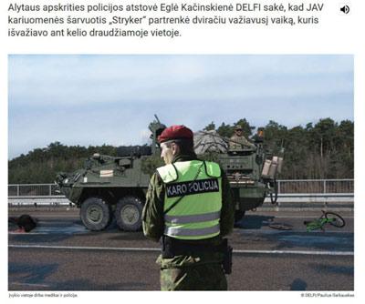 Frische Fake-Nachrichten aus Lettland und Litauen