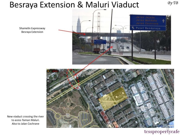 Besraya Extension & Maluri Viaduct