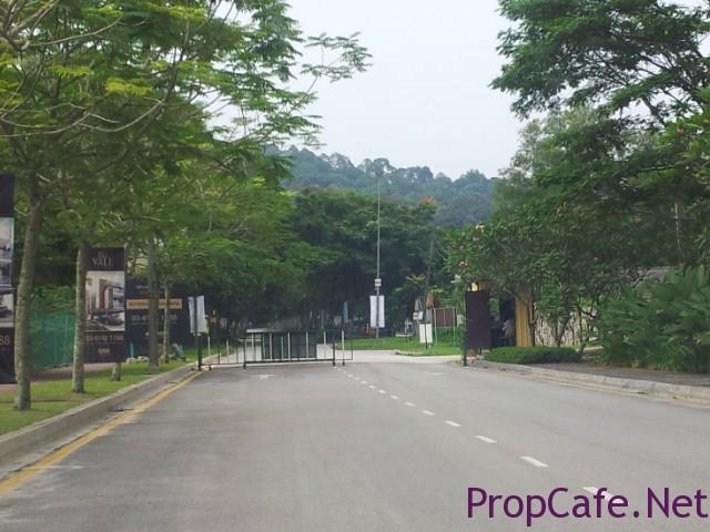 Sutera Dsara Entrance Boomgate