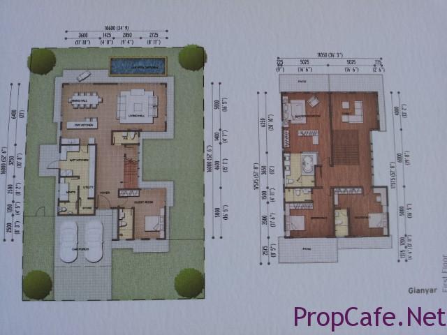 85 bungalow layout