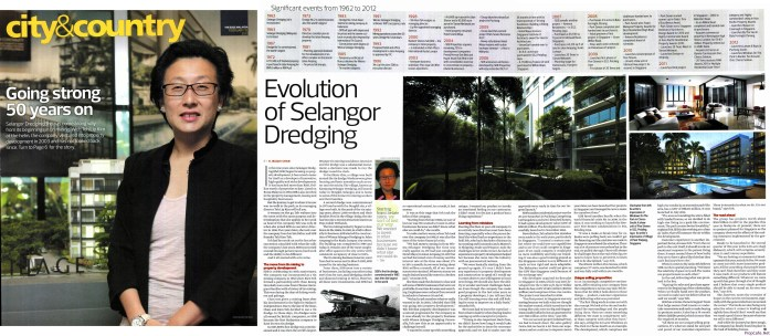 Selangor Dredging Berhad Source : The Edge Malaysia