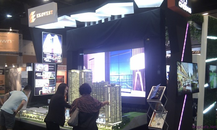 Ekovest Booth at Nanyang Property Ehxibition @ Sunway Convention Hall