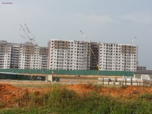 Across the road, Setia's Jati, Intan, Kasturi series of lower cost (same grade) apartments. By ten of thousand. Also Setia Alam Taipan Shoplots.