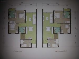 Typical floorplan...all same same...no variances.