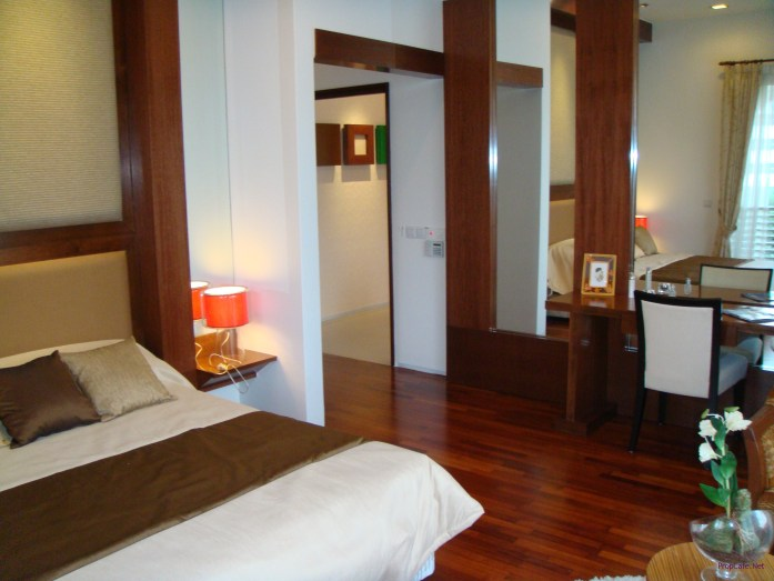 Master Bedroom. Timber timber timber everywhere....pesang